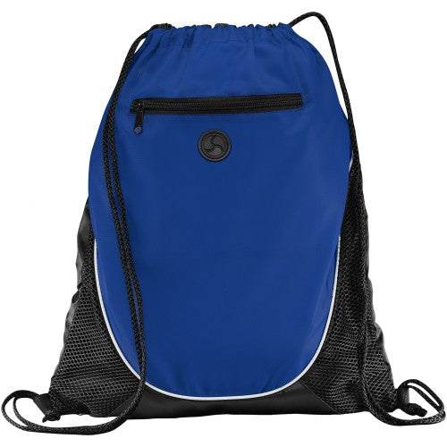 Front - Bullet The Peek Drawstring Cinch Backpack (Pack of 2)