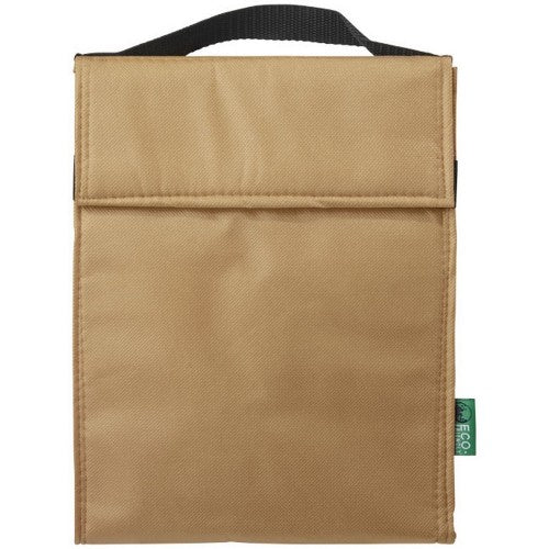Front - Bullet Triangle Non Woven Lunch Cooler Bag
