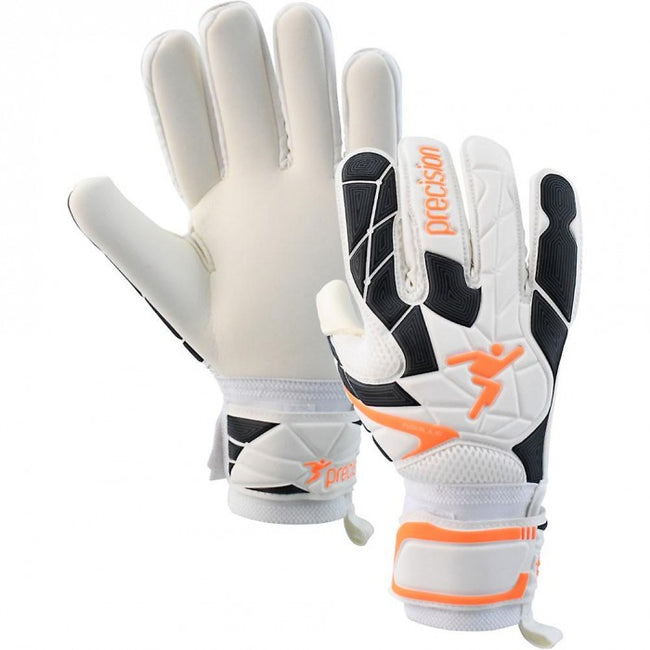 Front - Precision Childrens/Kids Fusion_X.3D Goalkeeper Gloves