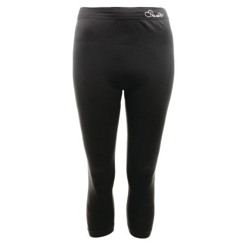 Front - Dare 2B Womens/Ladies Zonal III 3/4 Baselayer Bottoms/Leggings