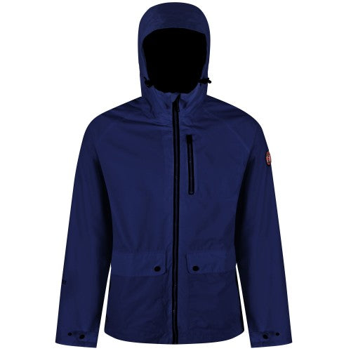 Front - Regatta Mens Hamlen Hooded Jacket