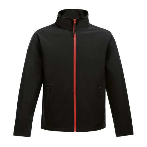 Front - Regatta Mens Ablaze Printable Softshell Jacket