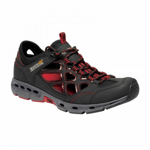 Front - Regatta Mens Samaris Crosstrek Sandals