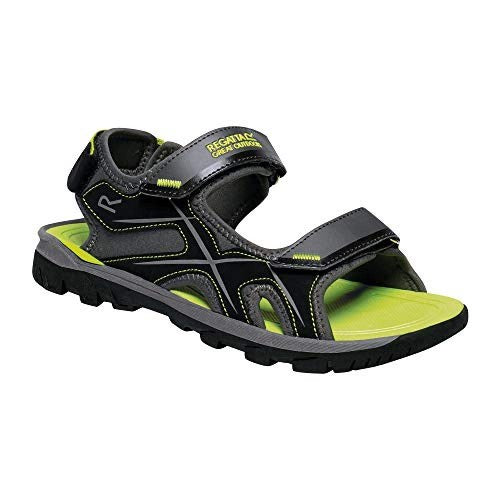 Front - Regatta Mens Kota Drift Open Toe Sandals