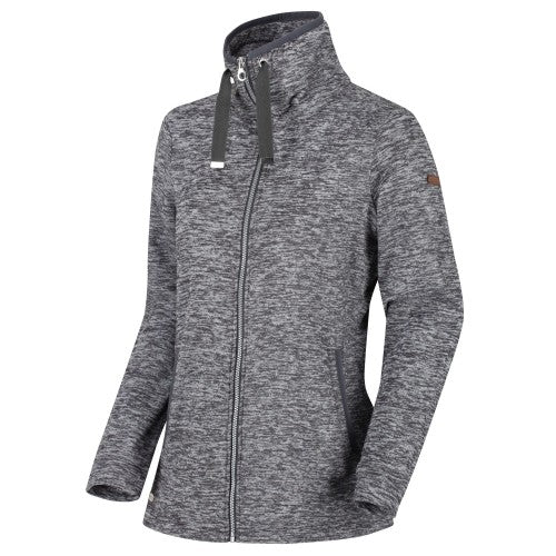 Front - Regatta Womens/Ladies Evanna Full Zip Lightweight Fleece