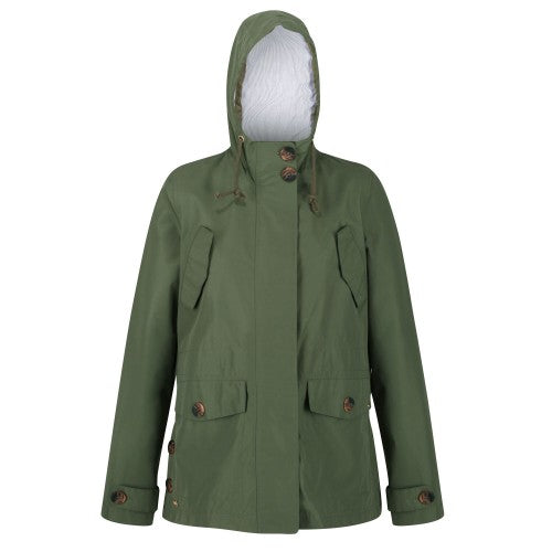 Front - Regatta Womens/Ladies Ninette Waterproof Jacket