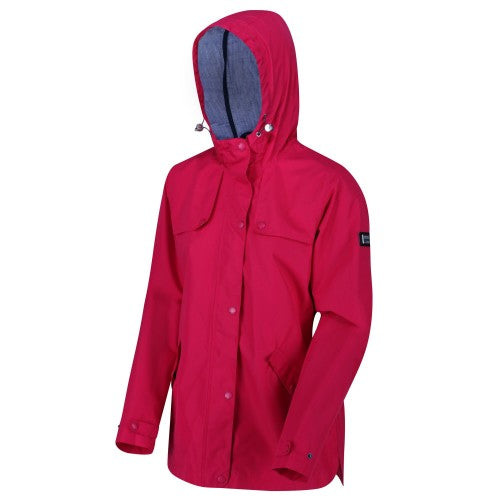 Front - Regatta Womens/Ladies Bertille Waterproof Jacket