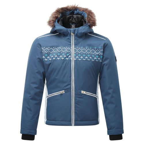 Front - Dare 2B Girls Far Out Ski Jacket