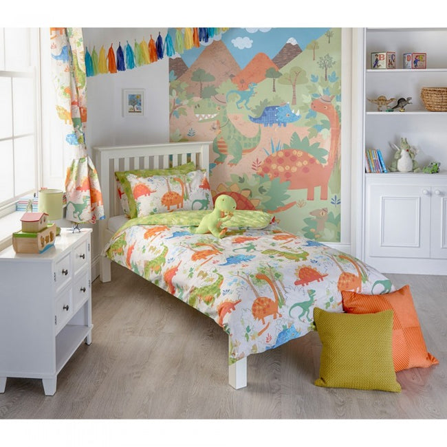 Front - Riva Home Dinosaur Childrens/Kids Duvet Set