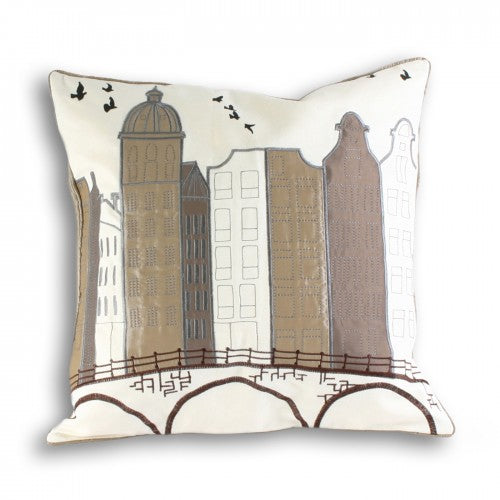 Front - Riva Home Amsterdam Cushion Cover