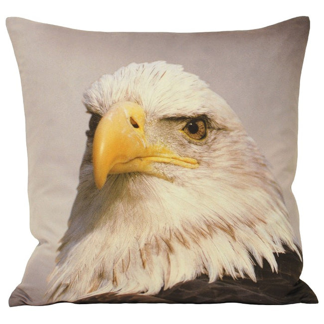 Front - Riva Home Animal Eagle Cushion Cover