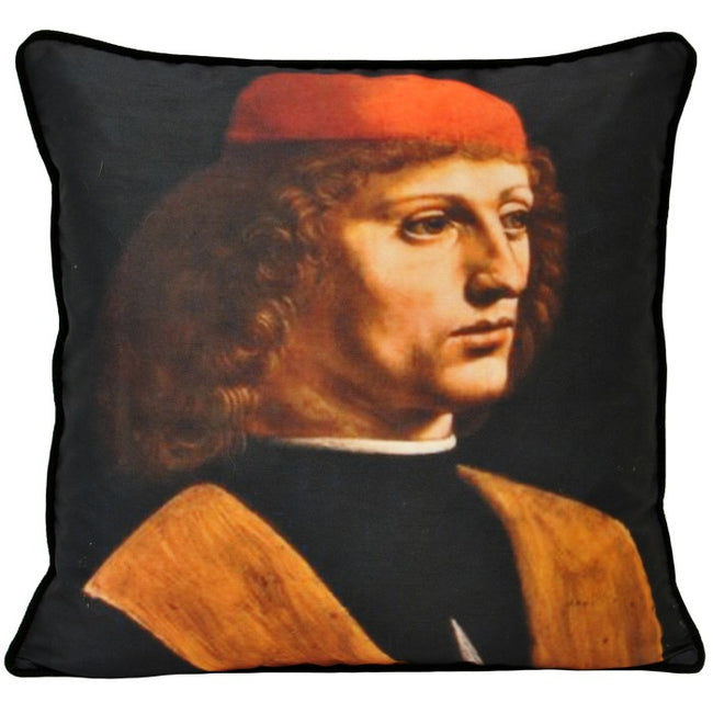 Front - Riva Home Leonardo Musician Cushion Cover