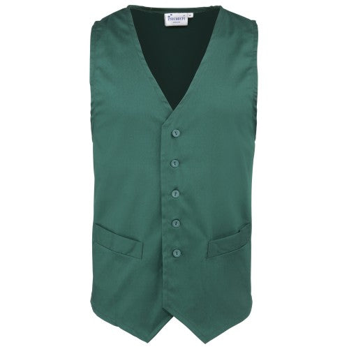 Front - Premier Mens Hospitality / Bar / Catering Waistcoat