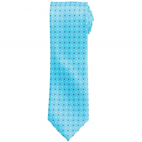 Front - Premier Mens Mini Squares Fashion Tie