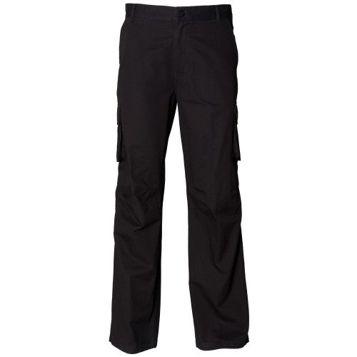 Front - Skinni Fit Mens Cargo Trousers