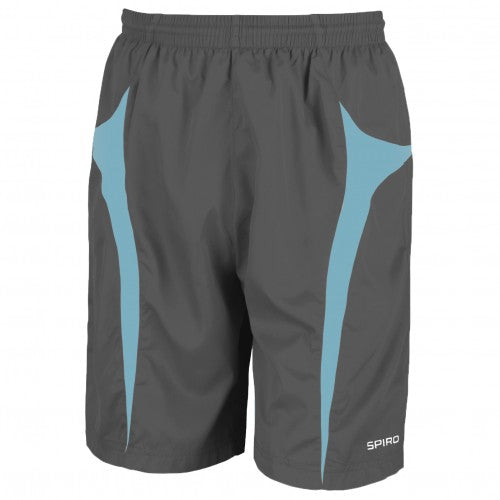 Front - Spiro Mens Micro-Team Sports Shorts