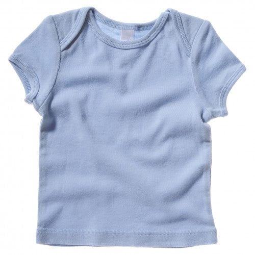 Front - Bella + Canvas Baby Unisex Short Sleeve Rib T-Shirt