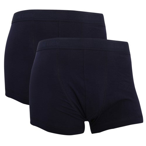 Front - Fruit Of The Loom Mens Classic Shorty Cotton Rich Boxer Shorts (Pack Of 2)