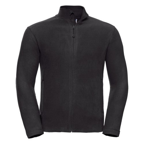 Front - Russell Europe Mens Full Zip Anti-Pill Microfleece Top