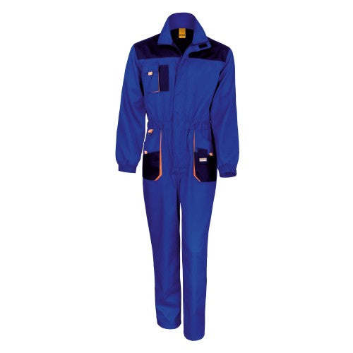 Front - Result Unisex Work-Guard Lite Workwear Coverall (Breathable And Windproof)