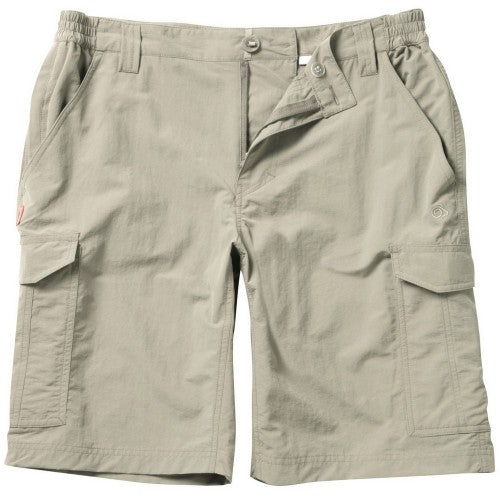 Front - Craghoppers Mens Nosilife Insect Repellent Cargo Shorts