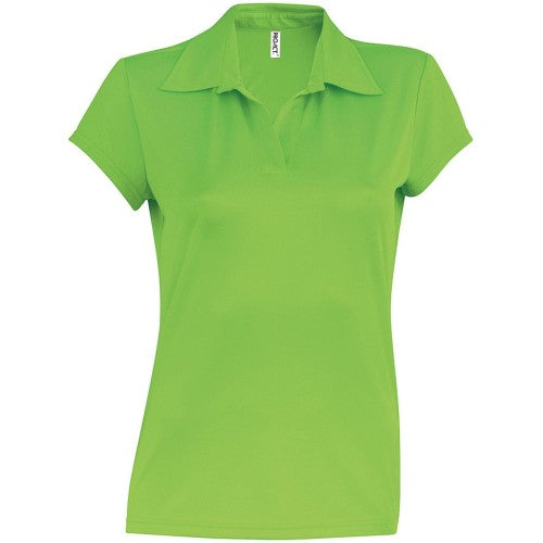 Front - Kariban Proact Womens/Ladies Short Sleeve Performance Polo Shirt