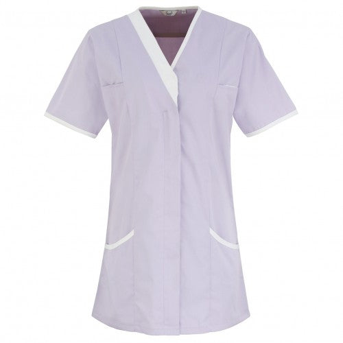 Front - Premier Womens/Ladies Daisy Healthcare Work Tunic