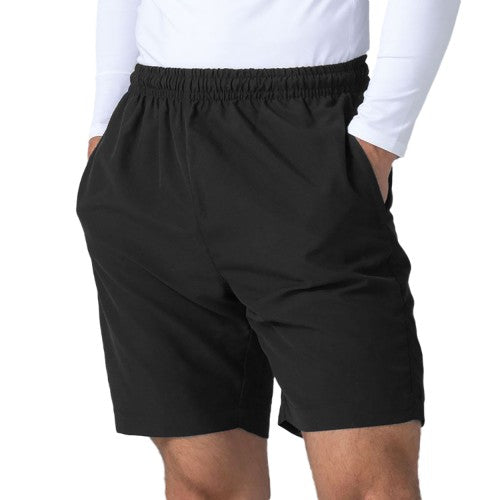 Front - Finden & Hales Womens/Ladies Microfibre Sports Shorts