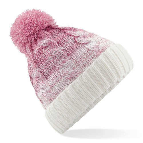 Front - Beechfield Unisex Ombre Styled Beanie
