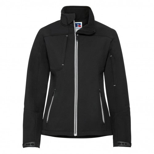 Front - Russell Women/Ladies Bionic Softshell Jacket