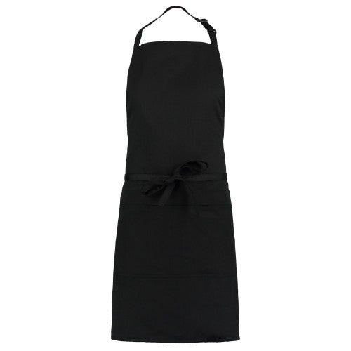 Front - Bargear Unisex Bib Apron With Pocket