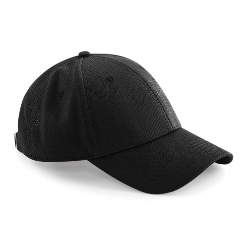 Front - Beechfield Unisex Adults Air Mesh 6 Panel Cap