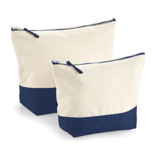 Front - Westford Mill Dipped Base Canvas Accessory Bag