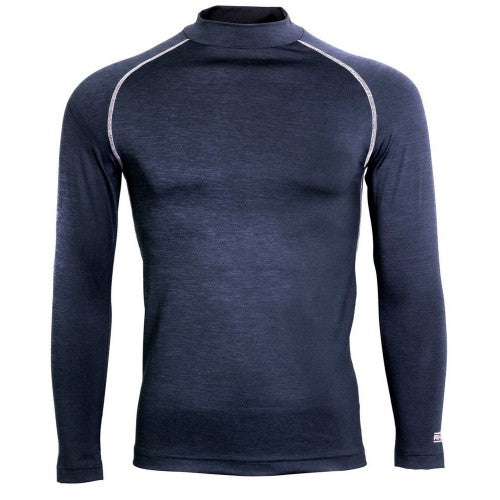 Front - Rhino Mens Long Sleeve Baselayer Top