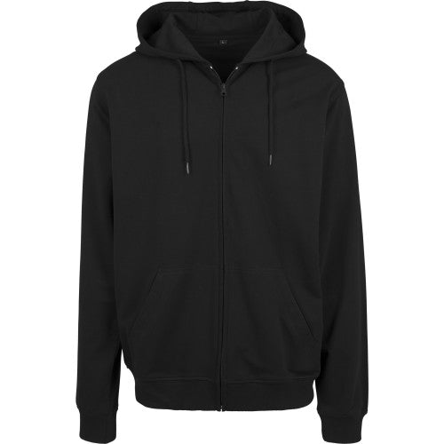Front - Build Your Team Mens Terry Zip Hoodie