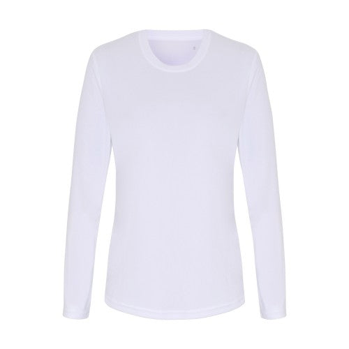 Front - TriDri Womens/Ladies Long Sleeve Performance T-Shirt