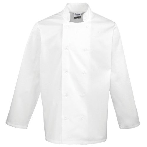 Front - Premier Unisex Chefs Jacket (Pack of 2)