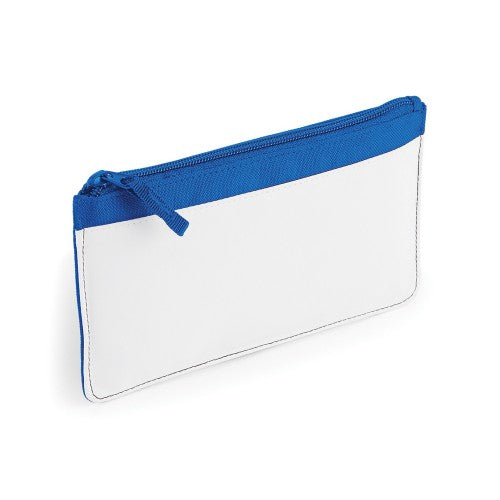 Front - Bagbase Plain Sublimation Pencil Case (Pack of 2)