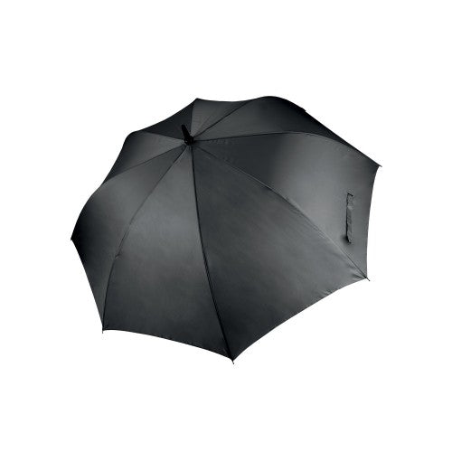 Front - Kimood Unisex Large Plain Golf Umbrella (Pack of 2)