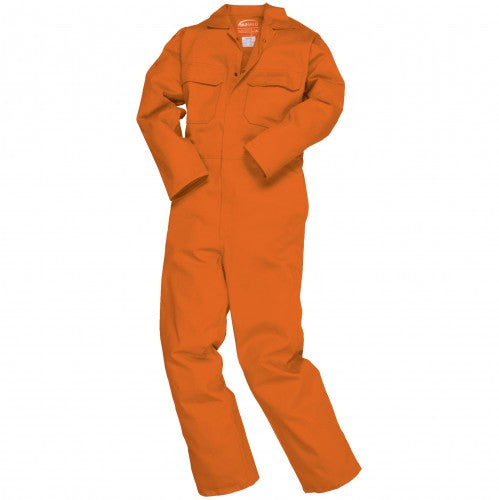 Front - Portwest Mens Bizweld Flame Retardant Coverall / Workwear (Pack of 2)