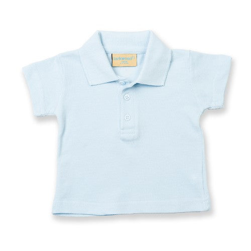 Front - Larkwood Baby/Toddler Unisex Polo Shirt