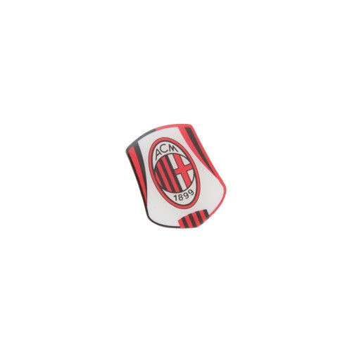 Front - AC Milan Official Metal Football Crest Pin Badge