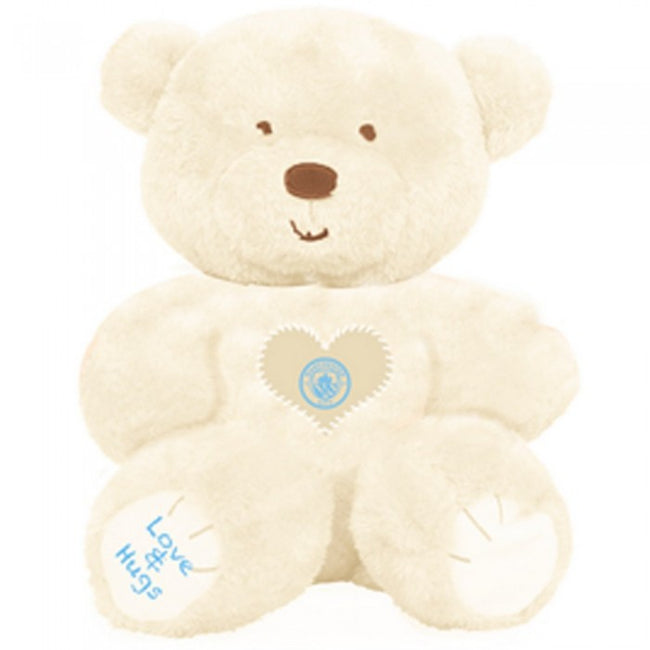 Front - Manchester City FC Childrens/Kids Love And Hugs Bear