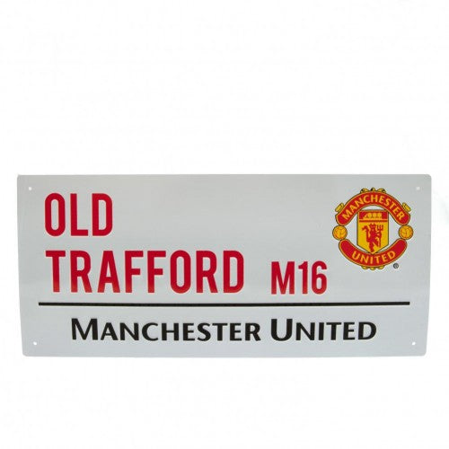 Front - Manchester United FC Official Street Sign