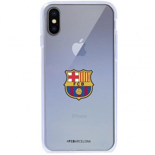 Front - FC Barcelona iPhone X TPU Case