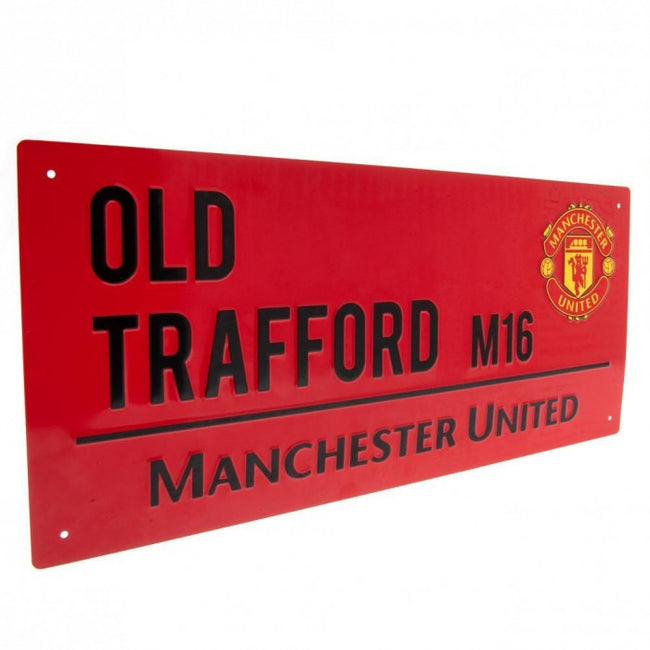 Front - Manchester United FC Street Sign