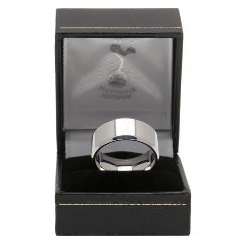 Silver - Back - Tottenham Hotspur FC Band Ring