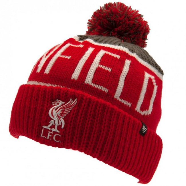 Front - Liverpool FC Unisex Adult Calgary 47 Ski Hat