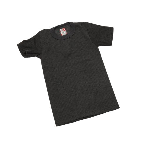 Front - Boys Thermal Clothing Short Sleeved T Shirt Polyviscose Range (British Made)