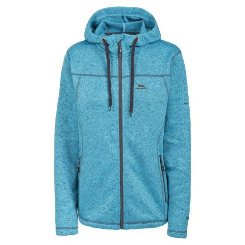 Front - Trespass Womens/Ladies Odelia Full Zip Fleece Hoodie